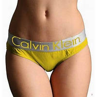 Женское белье Calvin Klein желтый цвет