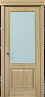 "Двери межкомнатные Папа Карло ""Milenium ML-11 бевелс"" дуб выбеленный"
