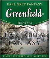"""Чай черный в пакетиках Greenfield """"Earl Grey Fantasy"""" 100шт Бергамот"""