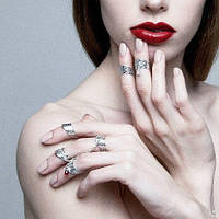 Кольца на ногти, фалангу пальца