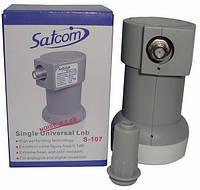 Спутниковый конвертер SatCom S-107 single