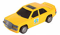 Игрушечная машинка авто-мерс желтый, Wader