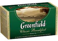 "Чай в пакетиках черный Greenfield  ""Classic Breakfast"" 25шт"
