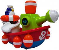 Игрушка для ванны Пингвинчик-моряк на корабле, Water Fun