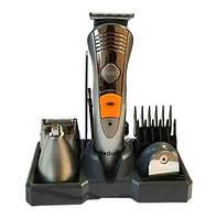 Набор для стрижки волос и бороды Brown MP-5580: аккумулятор, 4 головки, 3 насадки, 3 Вт, режим турбо
