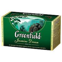 Чай в пактиках зеленый Greenfield Jasmine Dream 25шт Жасмин