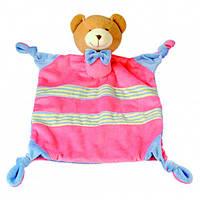 Игрушка платочек Медведик большая, Bino
