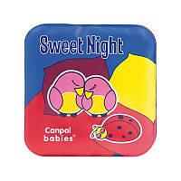 Игрушка-книжечка мягкая пищалка 2 шт, День и ночь, Canpol babies
