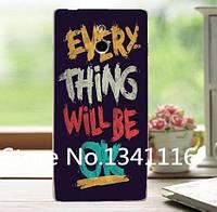 Оригинальный чехол панель накладка для Sony Xperia P LT22i с картинкой Надпись