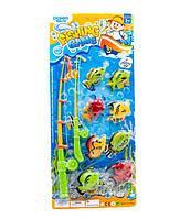Игрушечная рыбалка 336-10 2 магнит.удочки, 8 морских животных, на планшетке 57*25см