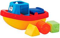 Игрушка-сортер для ванной комнаты Веселый кораблик, Navystar