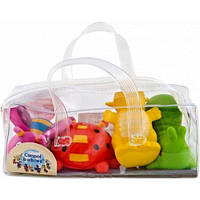 Игрушки для купания Зверьки 4 шт, Canpol babies