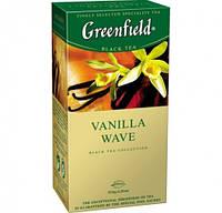 """Чай в пактиках черный Greenfield  """"Vanilla Wave""""  25шт Ваниль"""