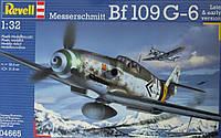 Истребитель Messerschmitt Bf109 G-6; 1:32, Revell