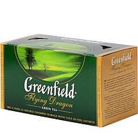 "Чай в пакетиках зеленый Greenfield ""Flying Dragon"" 25шт"