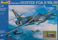 Истребитель-бомбардировщик Hawker Hunter FGA.9/F.58; 1:32; Revell