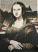 """Картина """"Мона Лиза"""" из мрамора"""