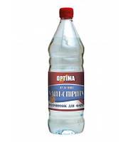 Растворитель для красок на основе уайт-спирита  ТМ OPTIMA (0,4л/0,8л/4л) От упаковки