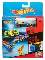 Карманный трек Pocket Raceway Hot Wheels, Mattel