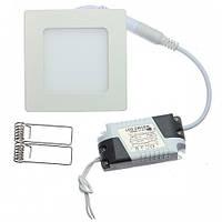 Светодиодный встраиваемый светильник Ledex 3Вт квадрат