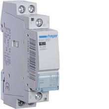 Контактор модульный 25A, 1НО+1НЗ, 230В AC Hager ESC227
