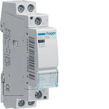 Контактор модульный 25A, 2НО, 230В AC Hager ESC225