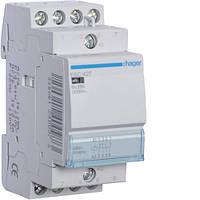 Контактор модульный 25A, 2НО+2НЗ, 230В AC Hager ESC427