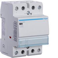 Контактор модульный 40A, 2НО, 230В AC Hager ESC240