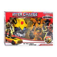 """Трансформер """"INTER CHANGE"""", с маской,  4091"""