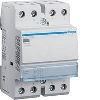 Контактор модульный 63A, 3НО+1НЗ, 230В AC Hager ESC466