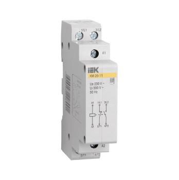 Контактор модульный КМ20-20 (MKK10-20-20) AC ИЭК