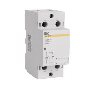 Контактор модульный КМ63-11 (MKK10-63-11) AC ИЭК