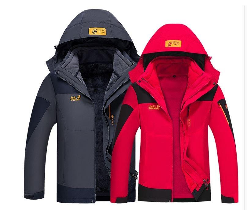 5998489de193 Мужская куртка 3 в 1 JACK WOLFSKIN. Куртки спортивные. Зимние куртки  мужские.