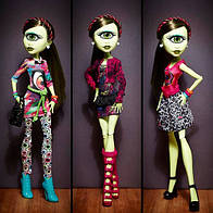 Кукла Айрис Клопс Я люблю моду Monster High I Love Fashion Iris Clops