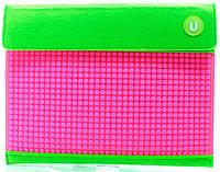 Клатч для планшета Зелено-малиновый, Upixel