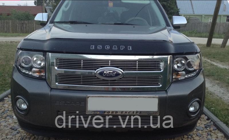 Дефлектор капота (мухобойка) Ford Escape 2000-2012