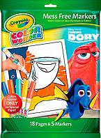 Книга-раскраска с фломастерами В поисках Дори, серия Color Wonder, Crayola