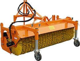 Щетка с бункером навесная 2,3 м гидравлическая для трактора