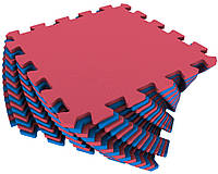 Детский коврик пазл 300*300*8 мм набор 9 шт