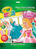 Книжка-раскраска с фломастерами серии Disney Princess, Crayola