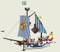 """Конструктор BRICK 305 (298781) """"пиратский корабль"""" 310дет.,от 5-ти лет,в кор. 42*28*7 (Ч)"""