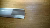 Алюминиевый профиль для светодиодной ленты Feron CAB 281 (угловой квадратный) 2м