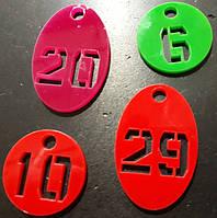 Брелки для ключей в гостиничные номера