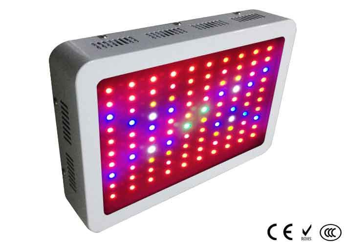 Светодиодный светильник для растений 100*3W mini (фитопанель), 2 кулера, полный спектр
