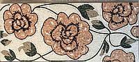 "Картина из мраморной мозаики ""Цветы"""