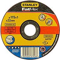 Абразивный отрезной круг по металлу STANLEY STA32632 (115*1*22)