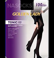 Женские плотные матовые колготки из микрофибры Golden Lady Tonic 100 den