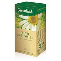 "Чай в пактиках Greenfield ""Rich Camomile"" 25шт Ромашка крупная"