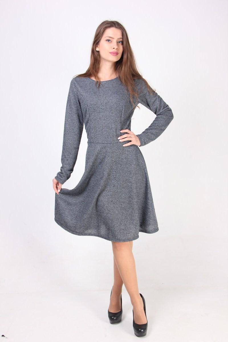 Платье с юбкой полусолнце с доставкой