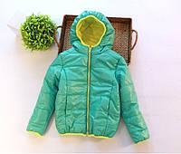 Куртка детская демисезонная для девочки спорт на 3, 4 года